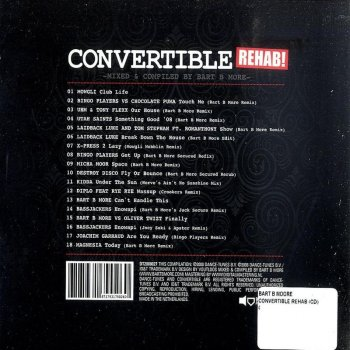 Convertible Rehab!: Mixed & Compiled By Bart B More (2008)