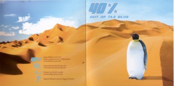 40 Percent - Out Of The Blue (2008)